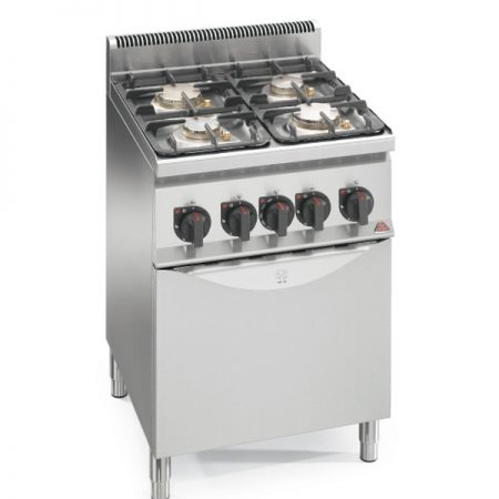 Cocinas a gas eco power Serie 600 Bertos