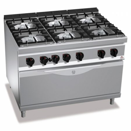 Cocinas a gas High power Maxima 900 Bertos